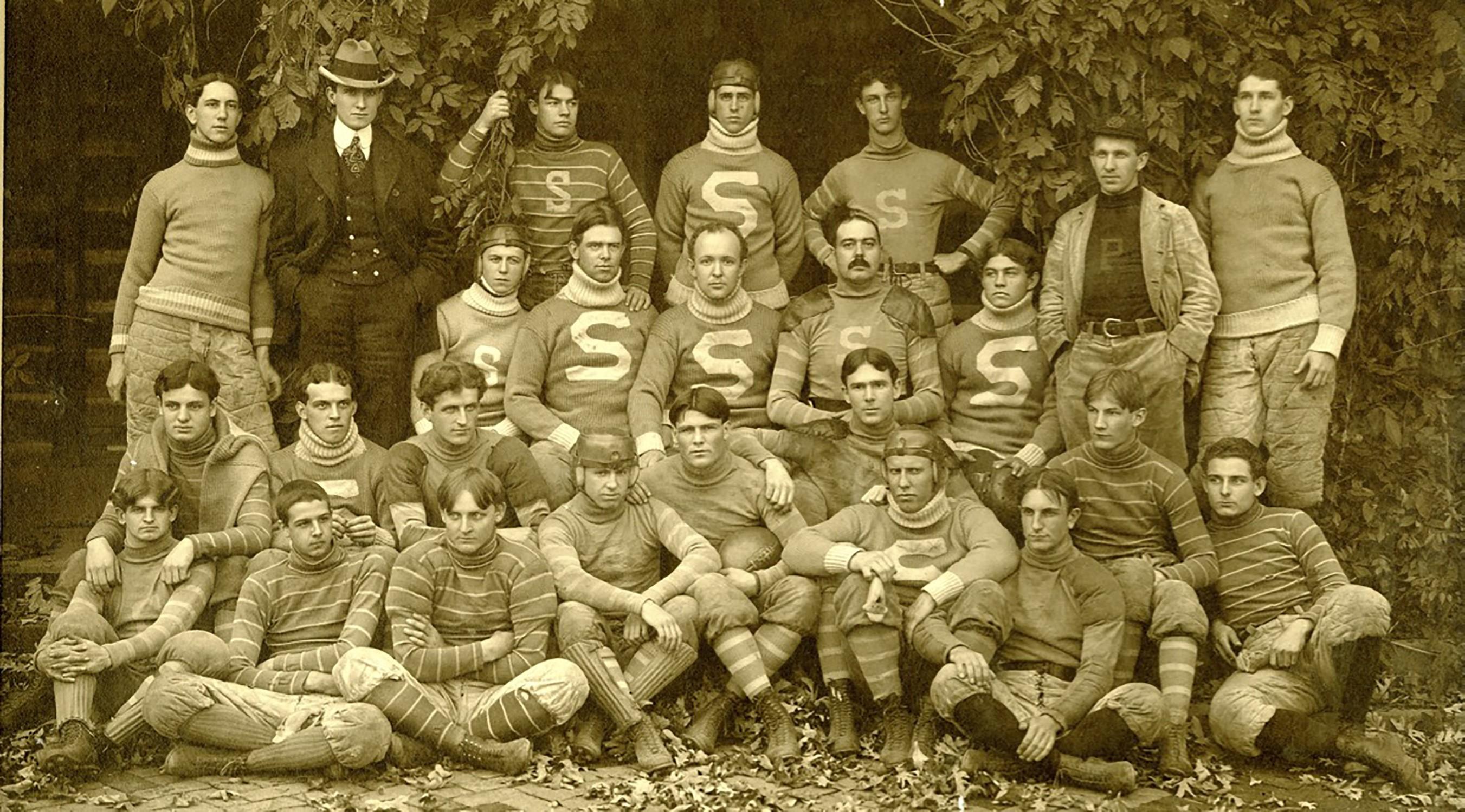 The Sewanee football team of 1899.