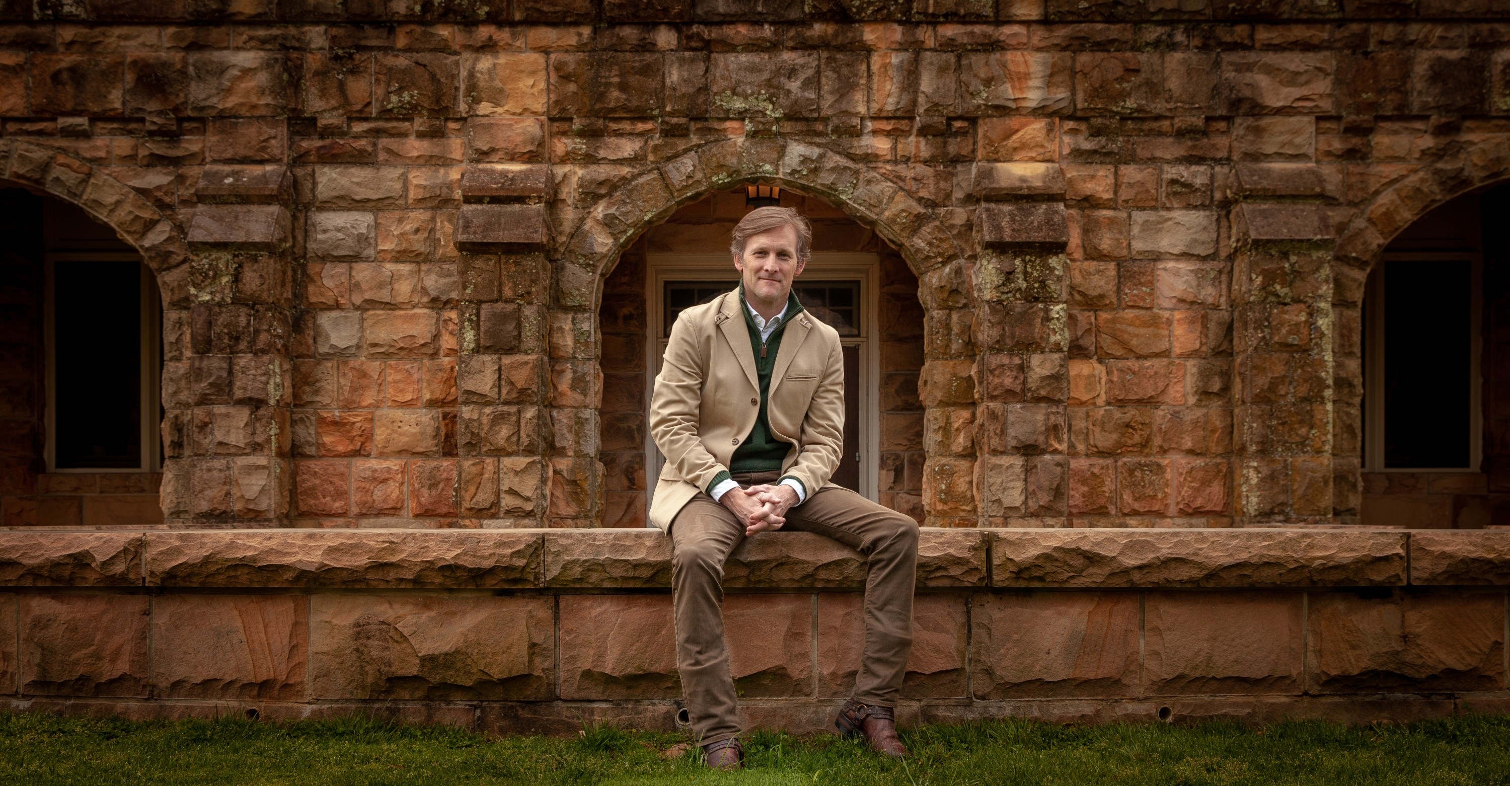 Julian Adams, C'94, photographed during a recent visit to Sewanee. Photo by Buck Butler
