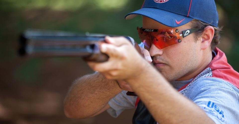 Wilks Halliday has been shooting competitively since sixth grade. When he was 16, he and his father built a training facility on the family farm near Columbia, Tennessee. Photo by Buck Butler