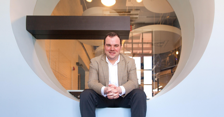 Chase Spurlock, photographed at the Nashville Entrepreneur Center.