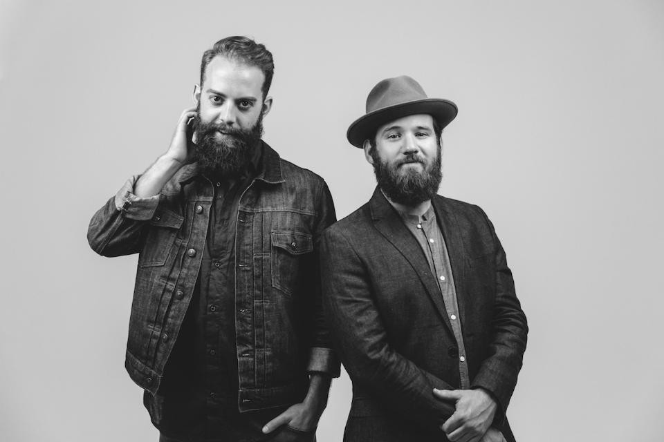 The Roosevelts: Jason Kloess and James Mason, C'07 (right).